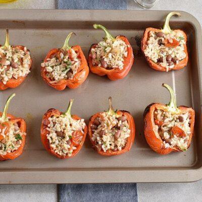 Vegetarian Stuffed Peppers recipe - step 8