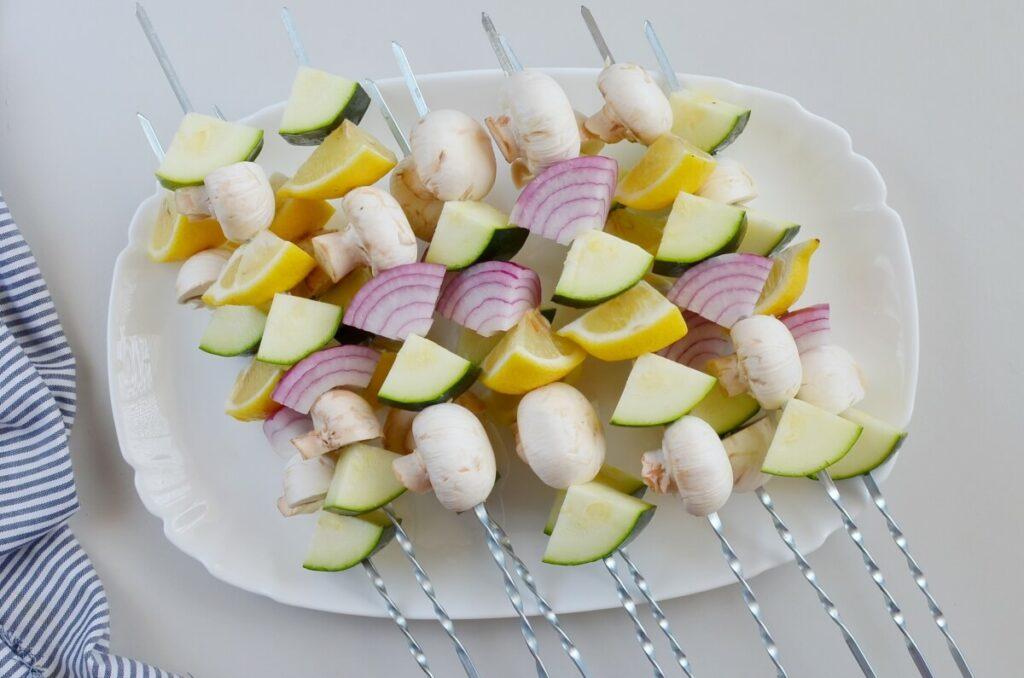 Veggie Kebabs recipe - step 3