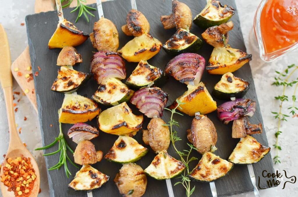 How to serve Veggie Kebabs