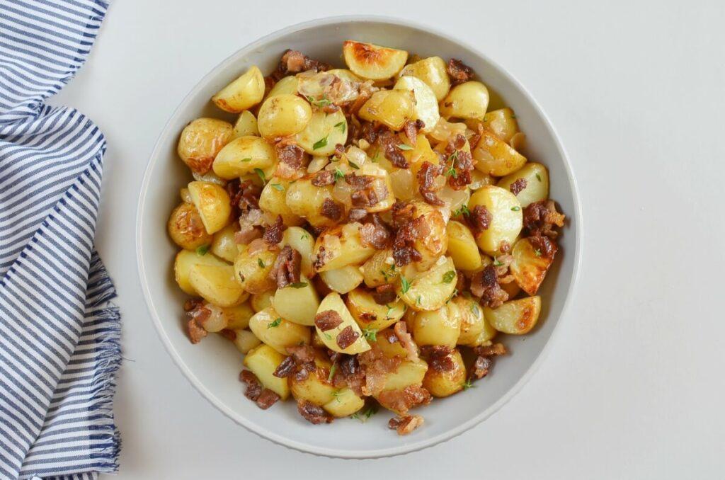Warm Maple Bacon Potato Salad recipe - step 8