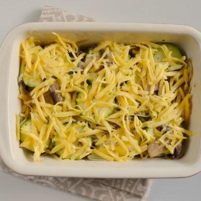 Low Carb Zucchini Mushroom Bake recipe - step 5