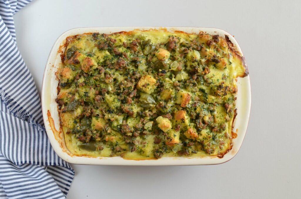 Veggie Sausage Strata recipe - step 9