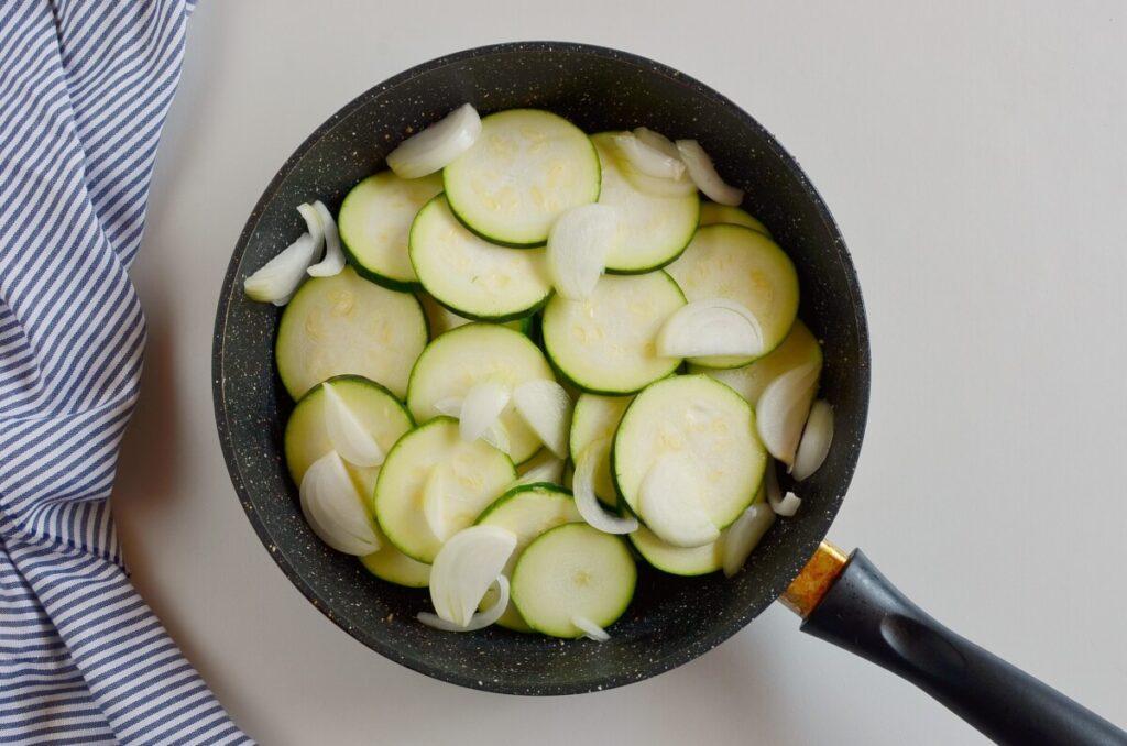 Zucchini & Sausage Stovetop Casserole recipe - step 2