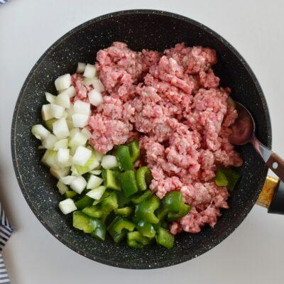 Veggie Sausage Strata recipe - step 1