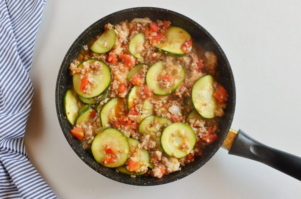 Zucchini & Sausage Stovetop Casserole recipe - step 4