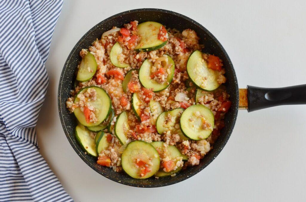 Zucchini & Sausage Stovetop Casserole recipe - step 5