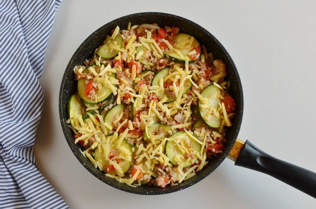 Zucchini & Sausage Stovetop Casserole recipe - step 7