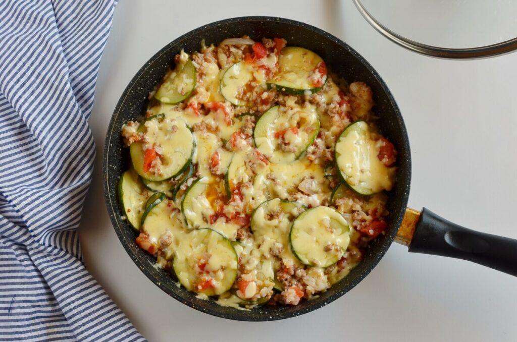 How to serve Zucchini & Sausage Stovetop Casserole