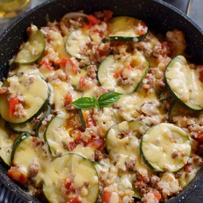 Zucchini & Sausage Stovetop Casserole Recipe-How To Make Zucchini & Sausage Stovetop Casserole-Delicious Zucchini & Sausage Stovetop Casserole (15)