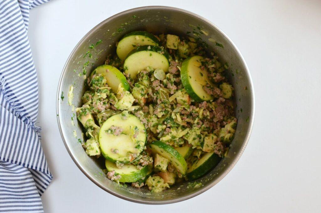 Veggie Sausage Strata recipe - step 3