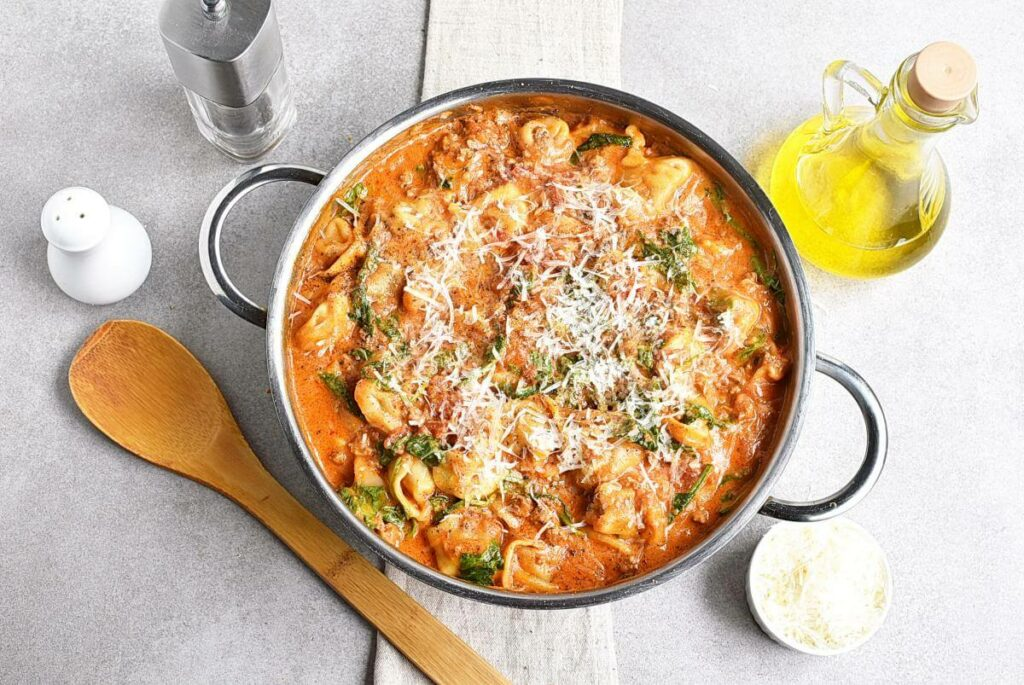 How to serve 20-Minute Tuscan Tortellini with Sausage