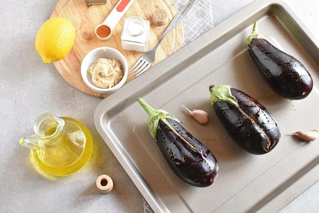 Authentic Baba Ganoush recipe - step 2