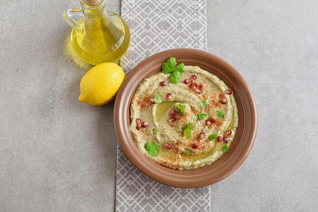 How to serve Authentic Baba Ganoush