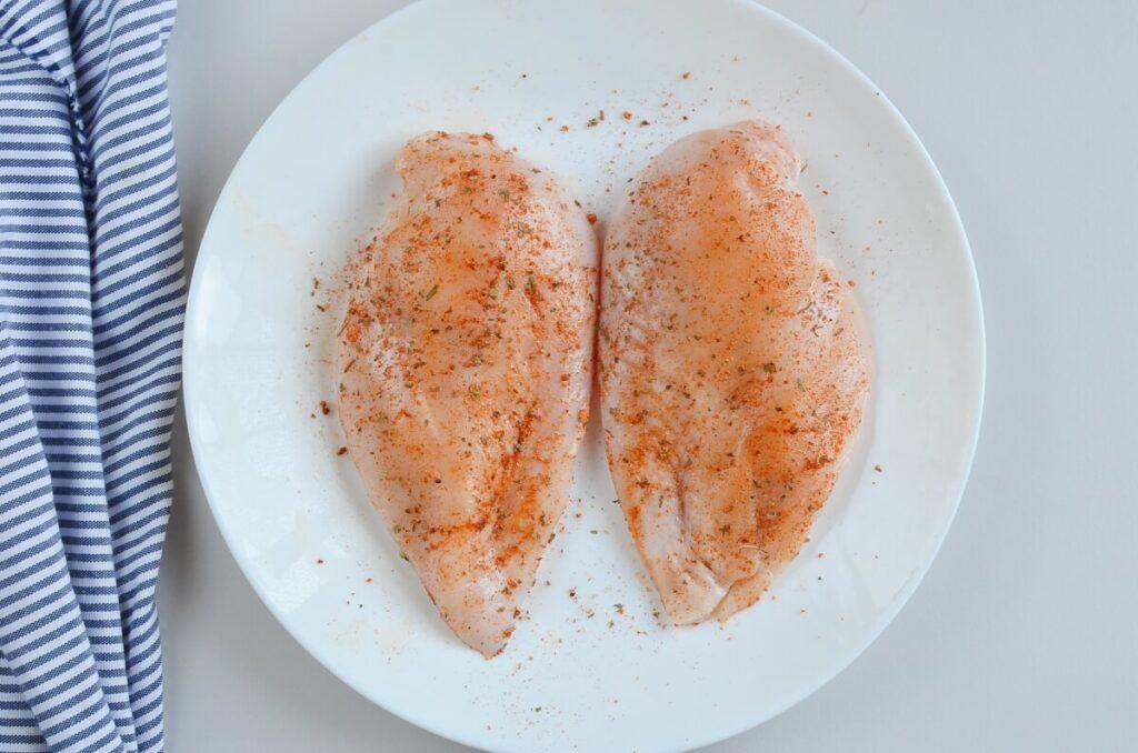 BBQ Chicken Salad recipe - step 2