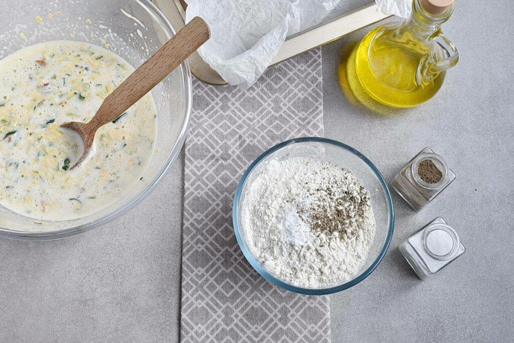 Bacon and Cheddar Zucchini Bread recipe - step 5
