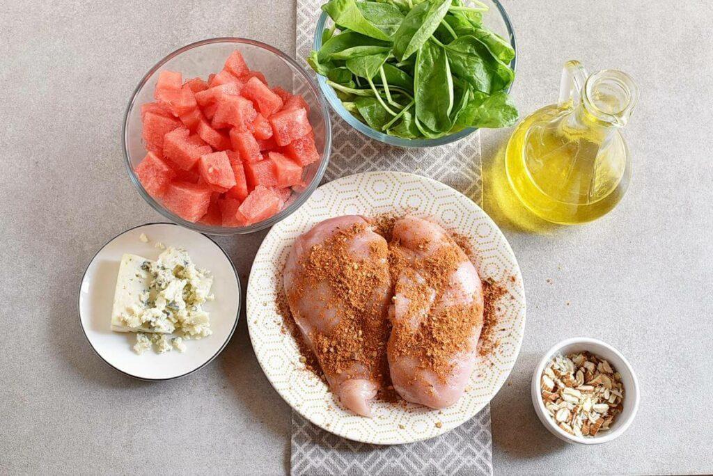 Balsamic Watermelon Chicken Salad recipe - step 3