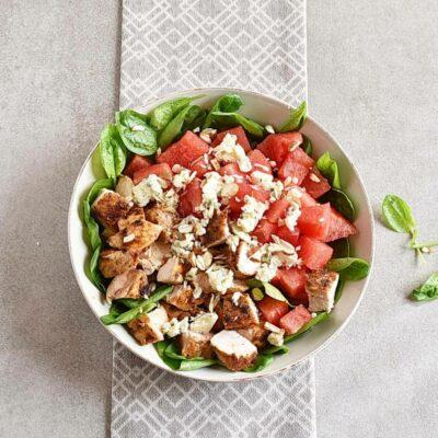 Balsamic Watermelon Chicken Salad recipe - step 5
