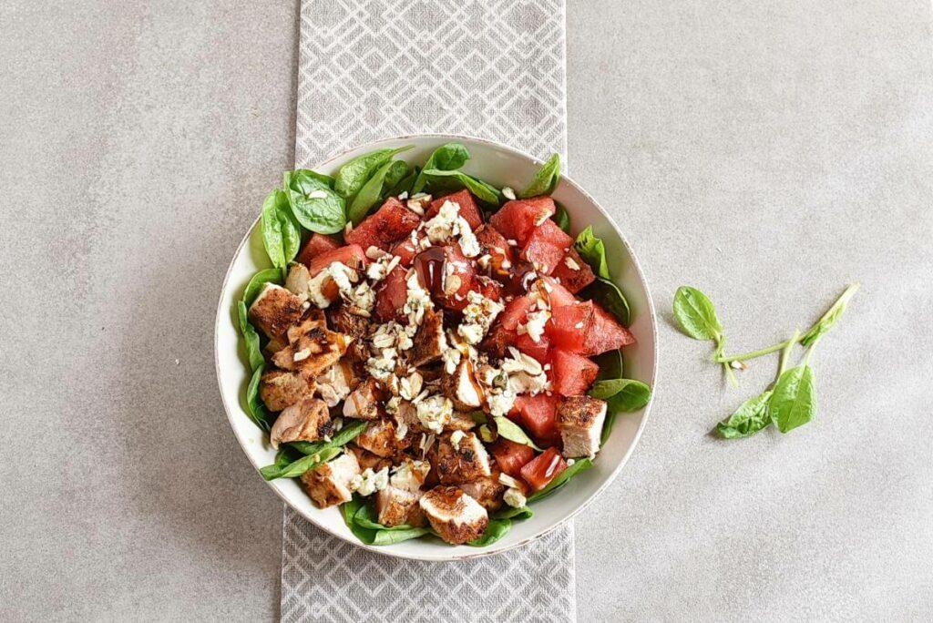 How to serve Balsamic Watermelon Chicken Salad