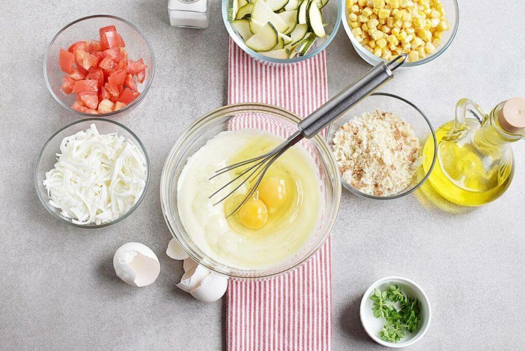 Basil Corn & Tomato Bake recipe - step 3