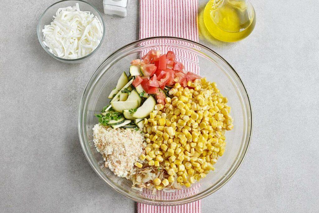 Basil Corn & Tomato Bake recipe - step 4
