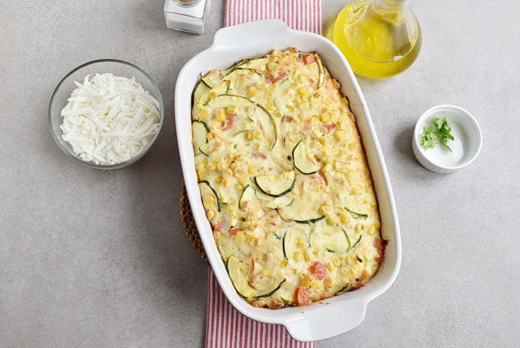 Basil Corn & Tomato Bake recipe - step 6