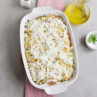 Basil Corn & Tomato Bake recipe - step 7