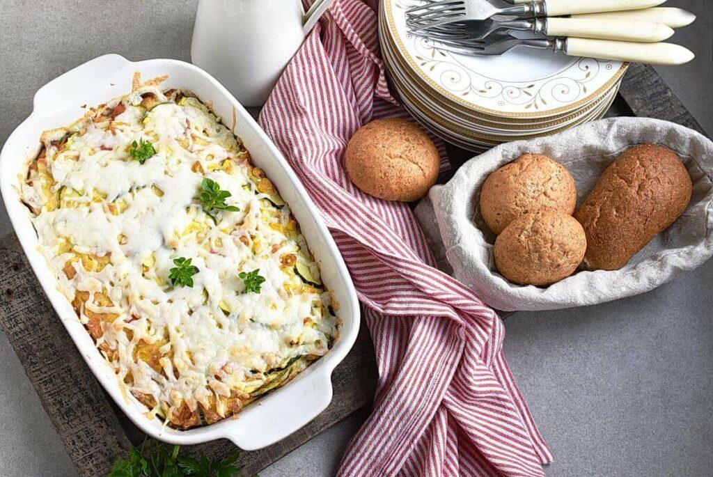 How to serve Basil Corn & Tomato Bake