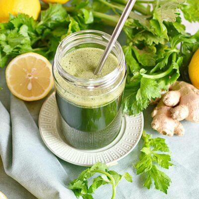 Celery Ginger and Lemon Juice Recipes– Homemade Celery Ginger and Lemon Juice– Easy Celery Ginger and Lemon Juice