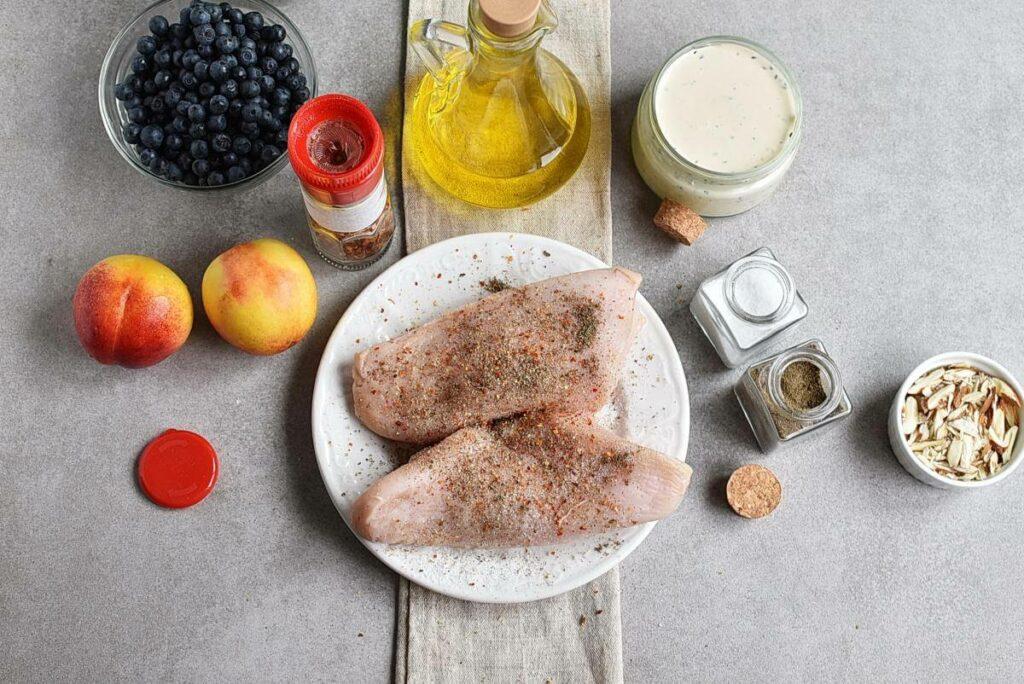 Chicken and Nectarine Poppy Seed Salad recipe - step 2