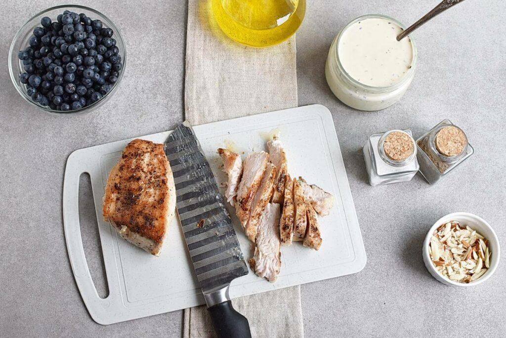 Chicken and Nectarine Poppy Seed Salad recipe - step 4