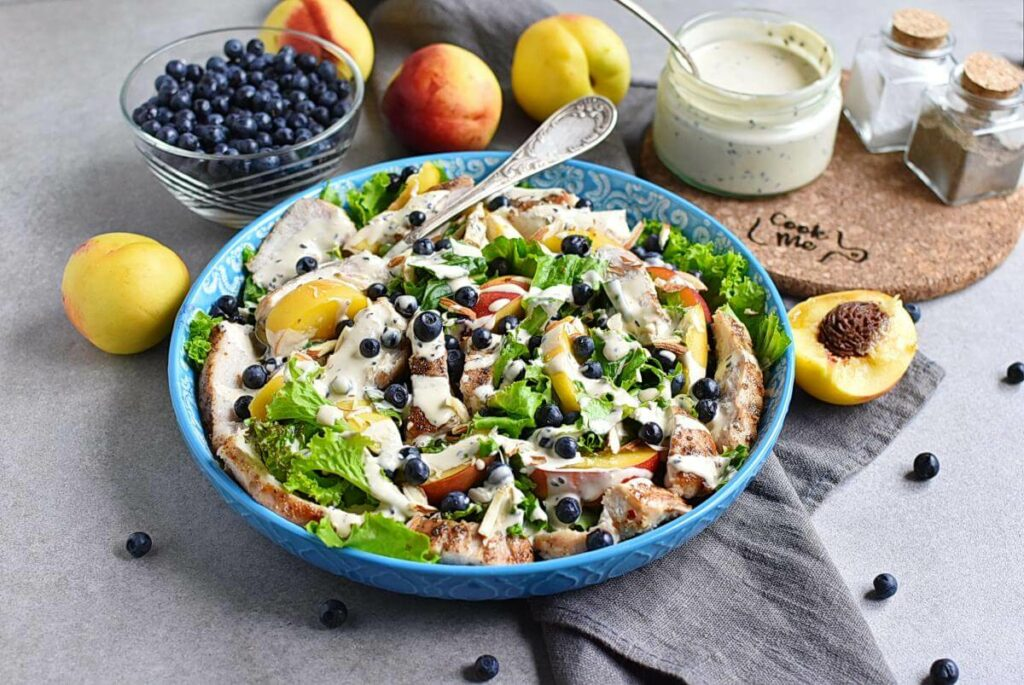 How to serve Chicken and Nectarine Poppy Seed Salad