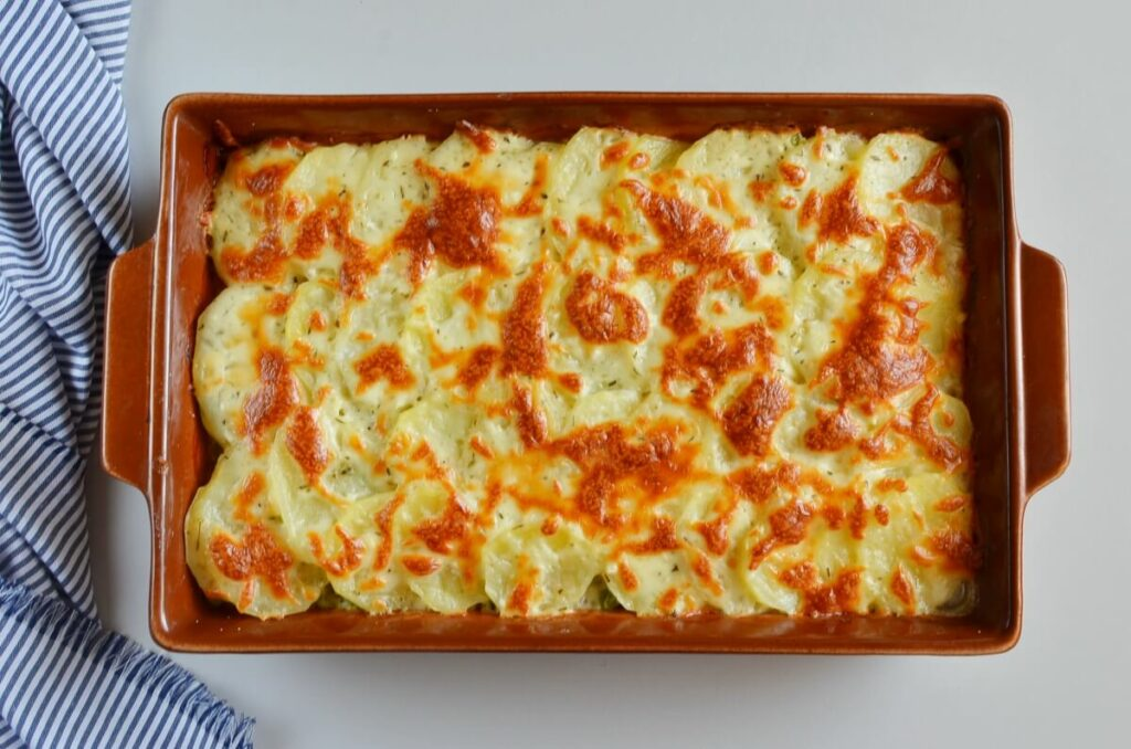 Creamy Ham and Potatoes au Gratin recipe - step 9