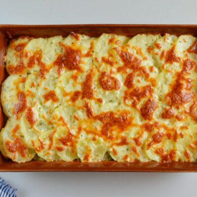 Creamy Ham and Potatoes au Gratin recipe - step 8