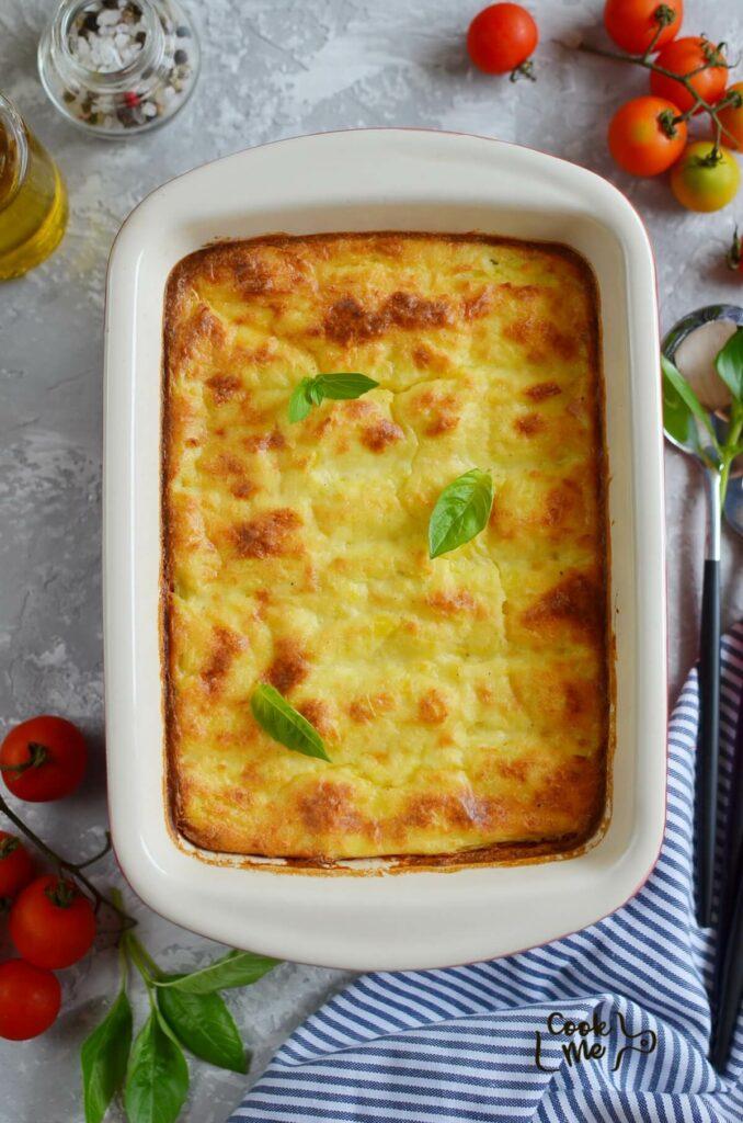 Delicious potato side dish