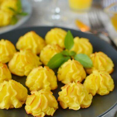 Duchess Potatoes Recipe-How To Make Duchess Potatoes-Delicious Duchess Potatoes