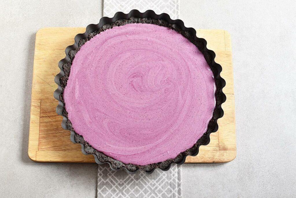 Easy No Bake Blackberry Tart recipe - step 7