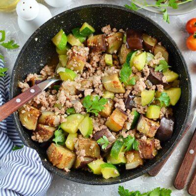 Eggplant and Chili Garlic Pork Stir-Fry Recipe-How To Make Eggplant and Chili Garlic Pork Stir-Fry-Delicious Eggplant and Chili Garlic Pork Stir-Fry