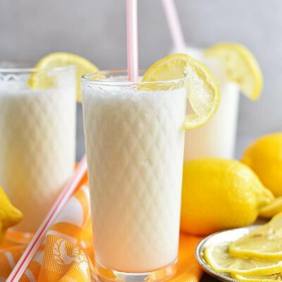 Frosted Lemonade Recipes– Homemade Frosted Lemonade – Easy Frosted Lemonade