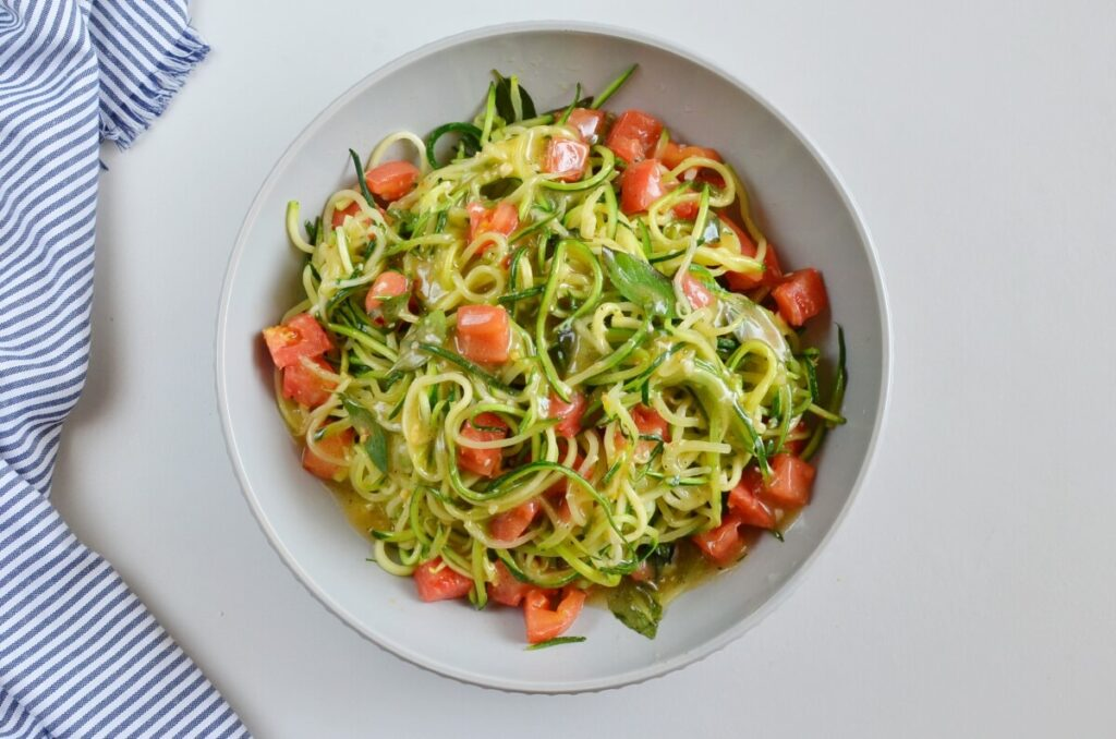 Guilt-Free Garlic Parmesan Zucchini Noodles recipe - step 8