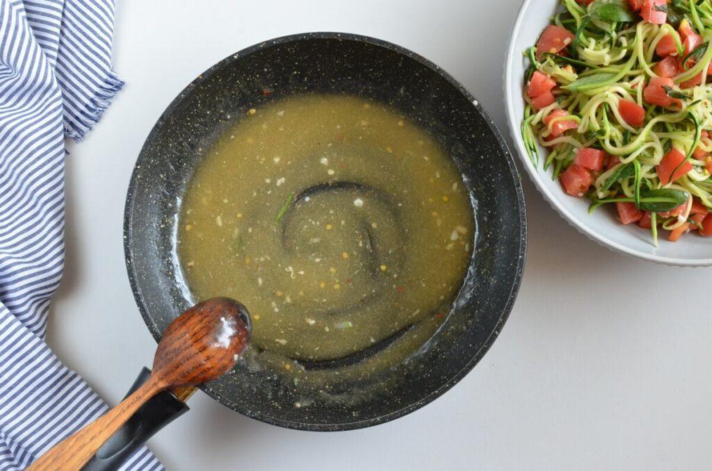 Guilt-Free Garlic Parmesan Zucchini Noodles recipe - step 6