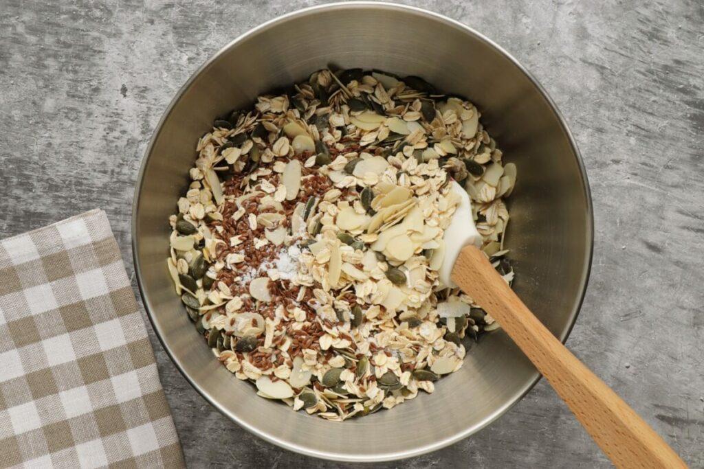 Pumpkin Seed Flax Granola recipe - step 2