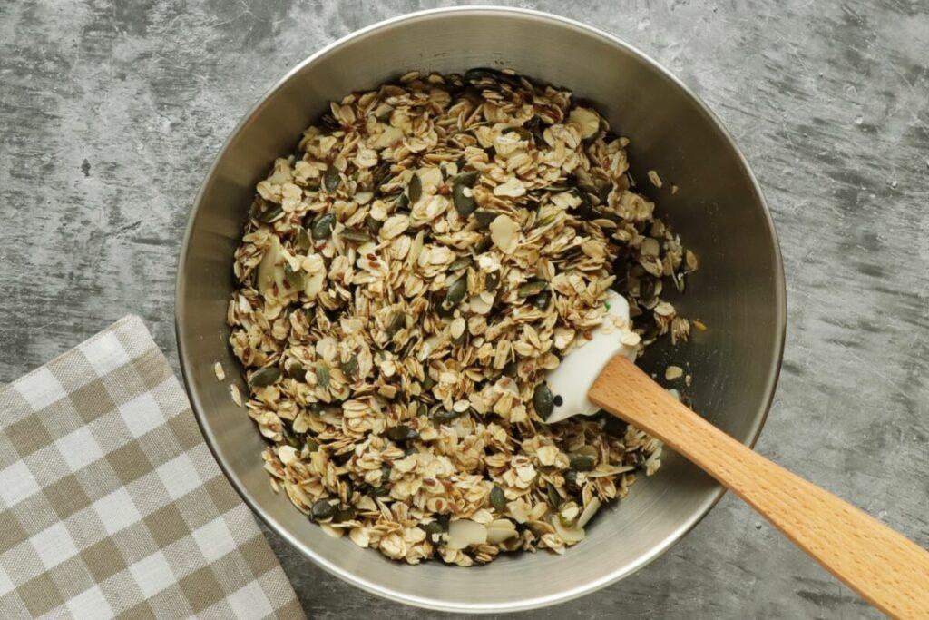 Pumpkin Seed Flax Granola recipe - step 4