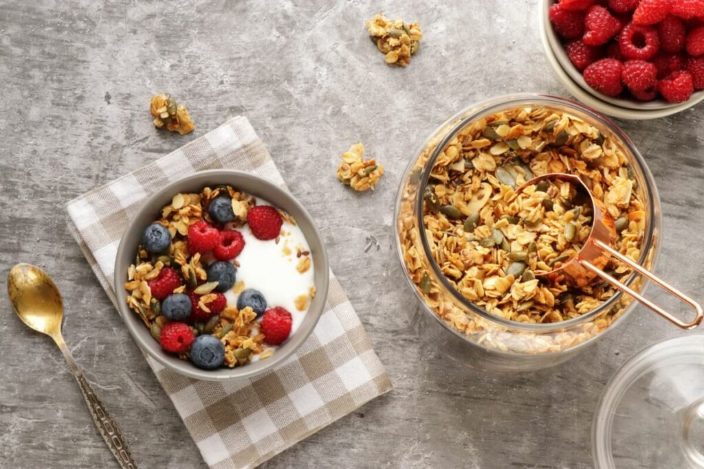 How to serve Pumpkin Seed Flax Granola