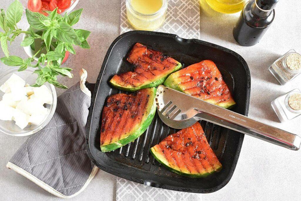 Honey Grilled Watermelon Caprese Salad recipe - step 3
