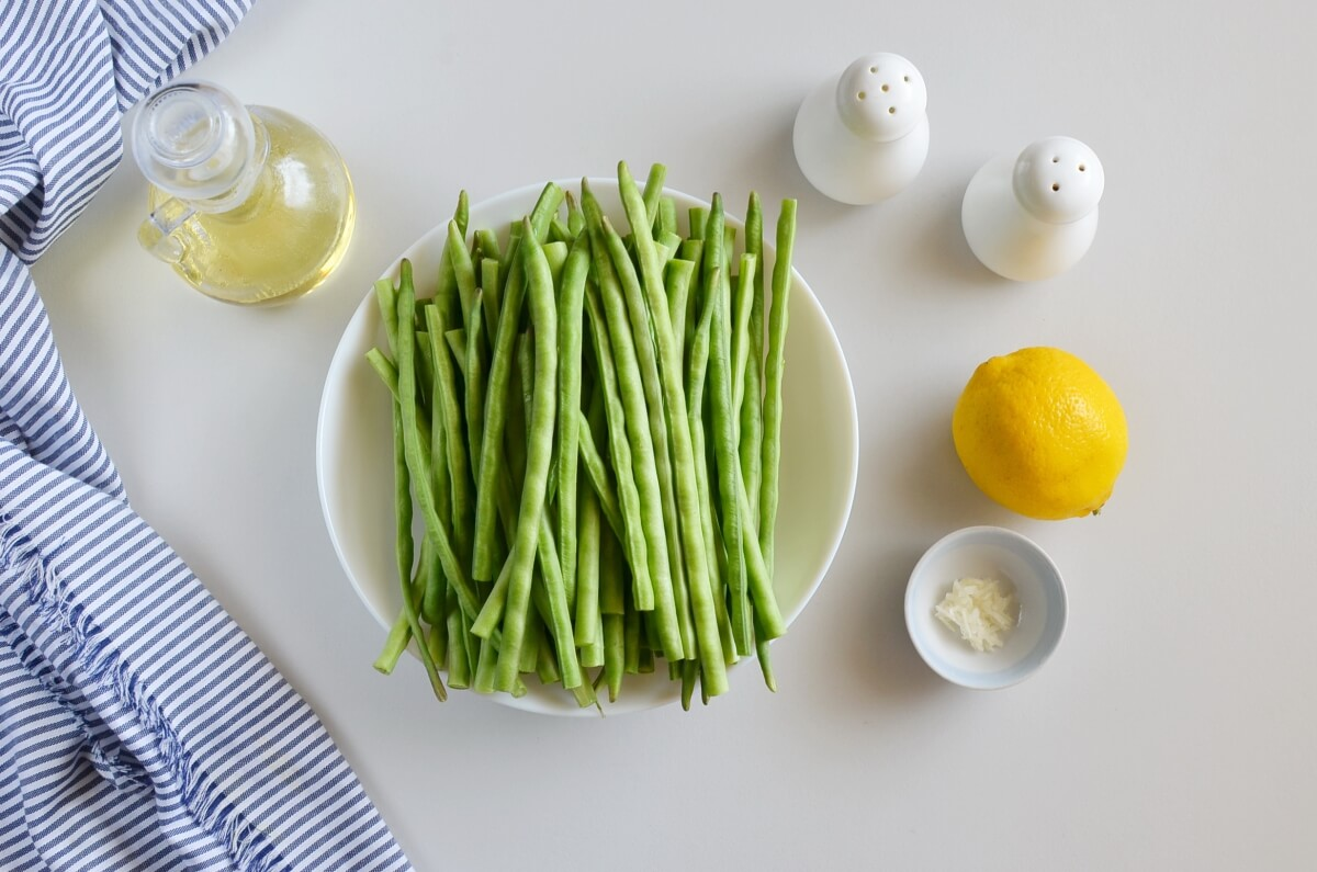 Ingridiens for How to Cook Fresh Green Beans