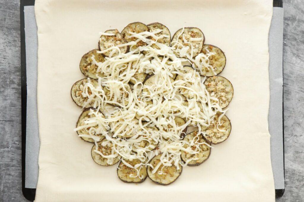 Italian Eggplant Tomato Galette recipe - step 7