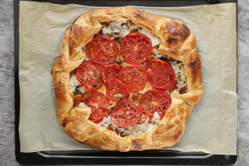 Italian Eggplant Tomato Galette recipe - step 10