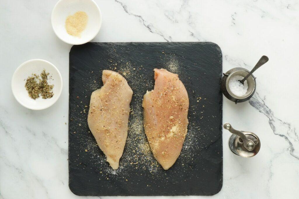 Keto Chicken Margherita recipe - step 1