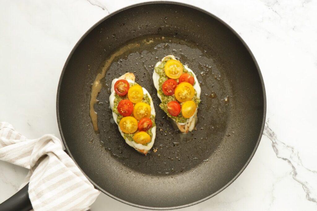Keto Chicken Margherita recipe - step 4