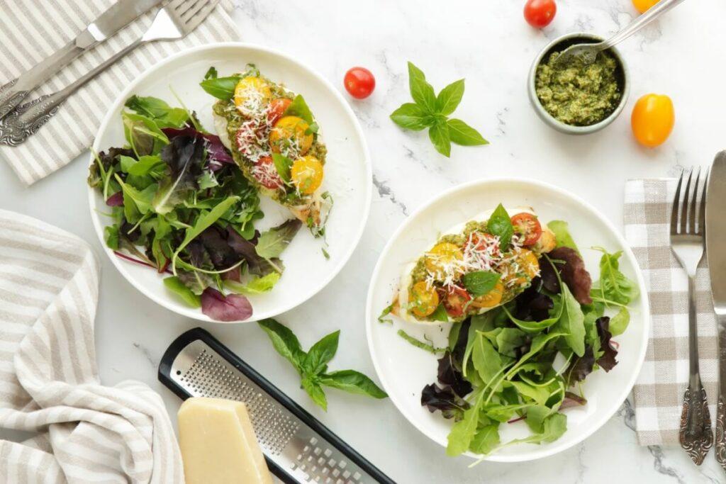 How to serve Keto Chicken Margherita